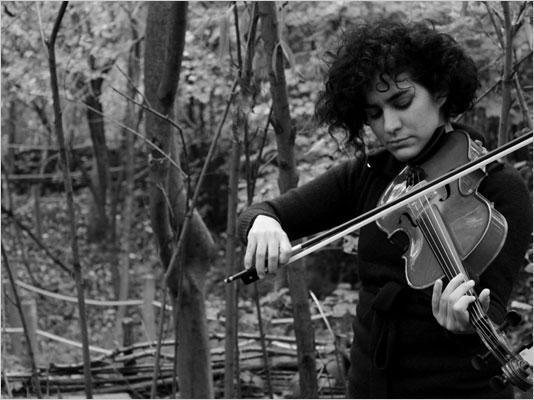 Lucia Vivanco performing, 2010